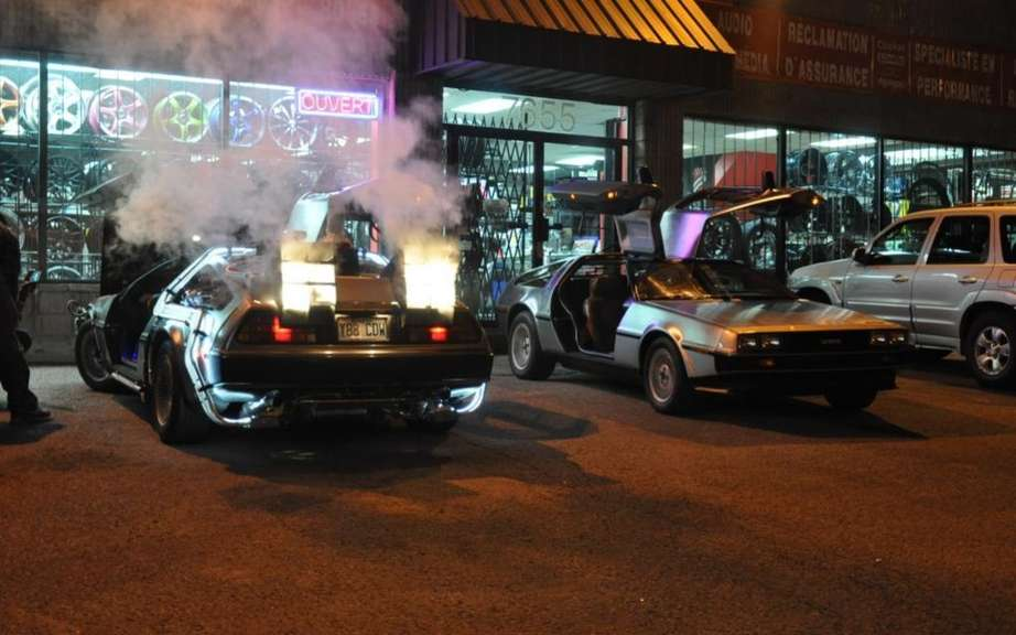The DeLorean from Back to the Future in Montreal this weekend picture #2