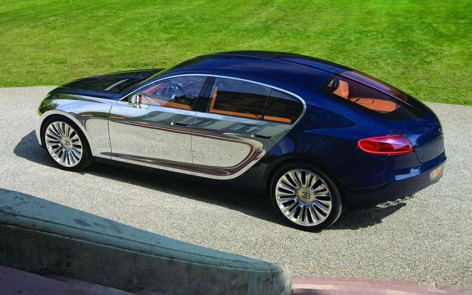 Bugatti 16C Galibier: the project be abandoned picture #2
