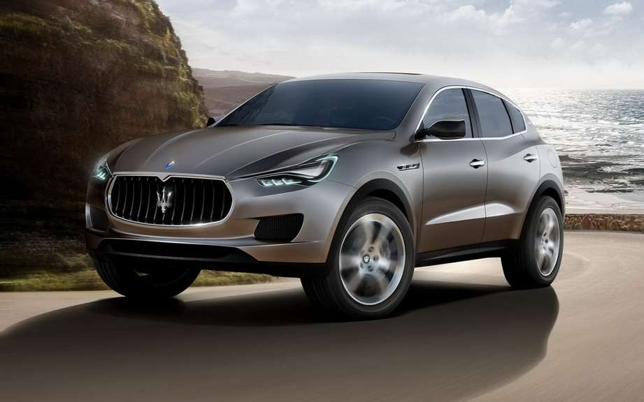 Maserati Levante produced in Italy picture #2