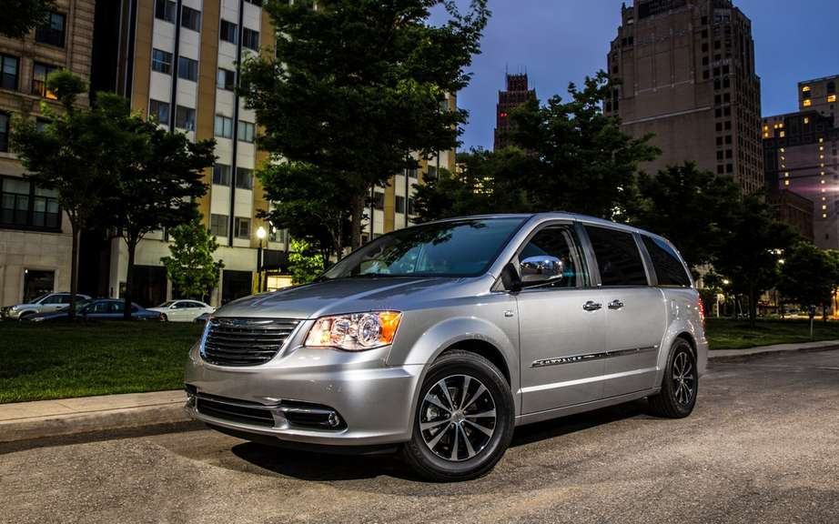 Chrysler celebrated the 30th anniversary of its popular minivans