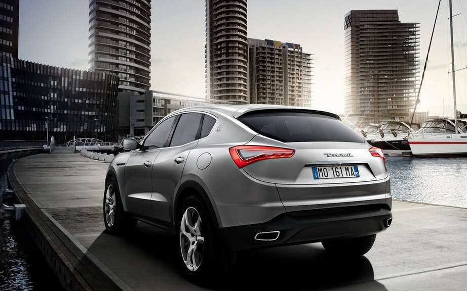 Maserati Levante produced in Italy picture #4