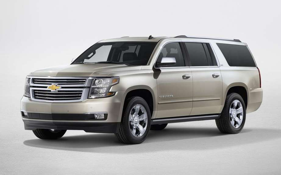 GM presents its large SUV 2015 picture #17
