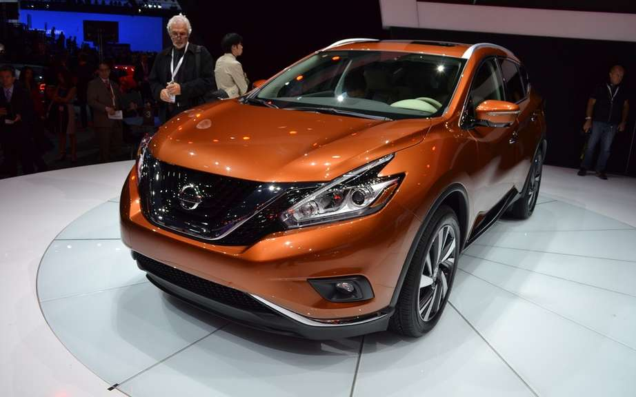 Nissan Murano and Rogue hybrid for 2015