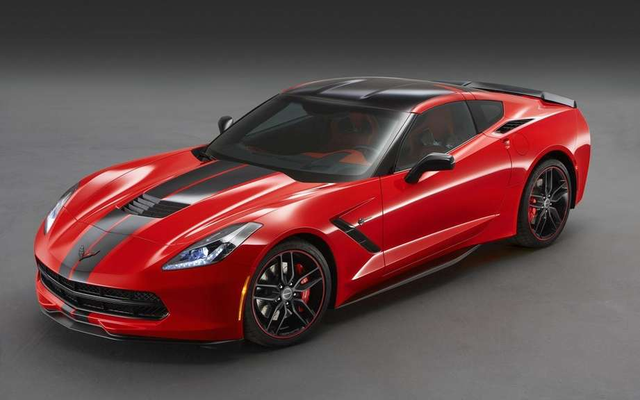 Chevrolet revived the fight east-west with two limited edition Corvette picture #4