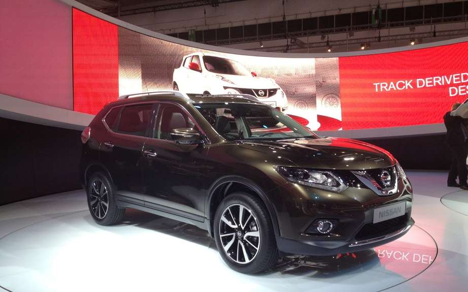 Nissan Murano and Rogue hybrid for 2015 picture #2