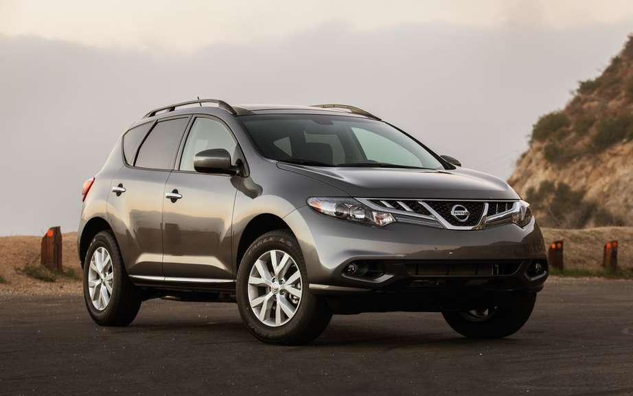 Nissan Murano and Rogue hybrid for 2015 picture #3