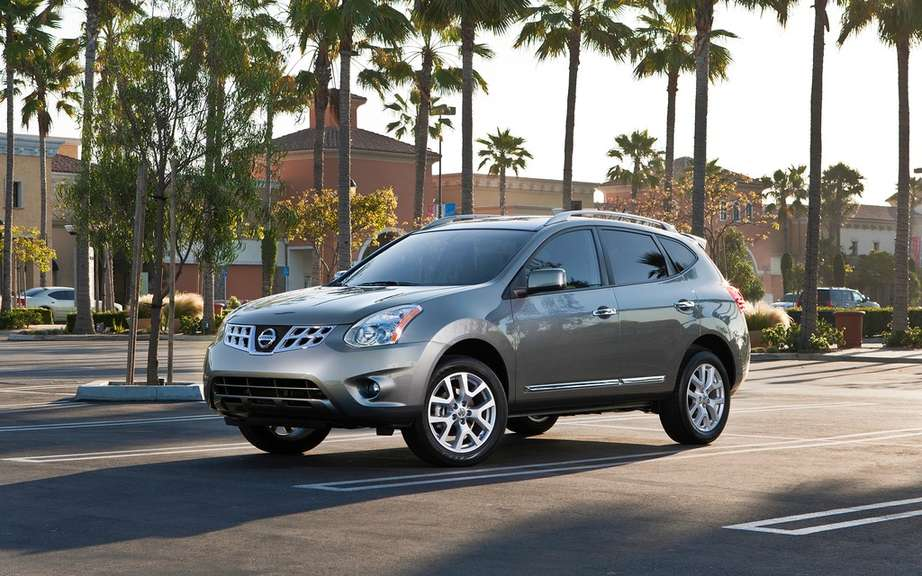 Nissan Murano and Rogue hybrid for 2015 picture #4