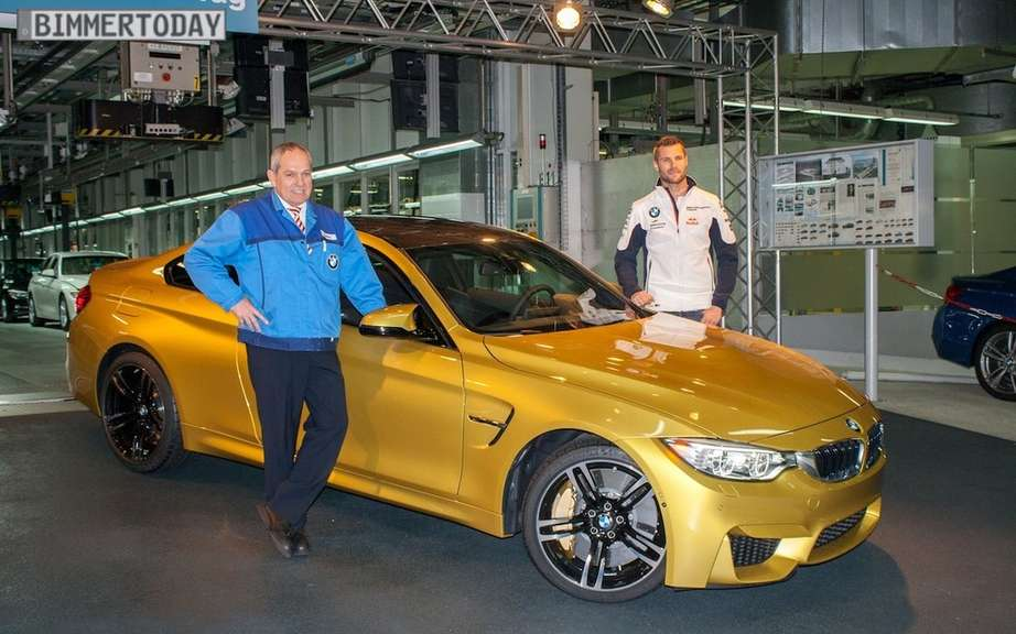 BMW M4 2015 production debute picture #4