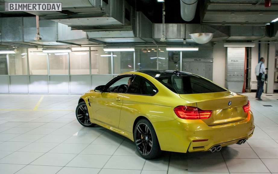 BMW M4 2015 production debute picture #5