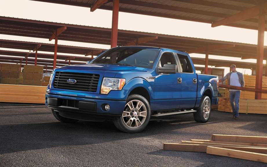Ford F-150 STX SuperCrew 2014 most generous picture #6