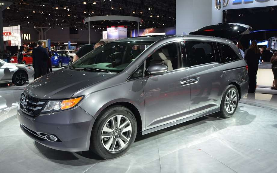 IIHS: 1st prize safety of vehicles delivered to the Honda Odyssey