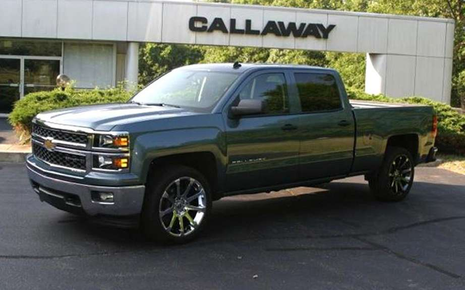Callaway tackles trucks Silverado and Sierra 2014 picture #3