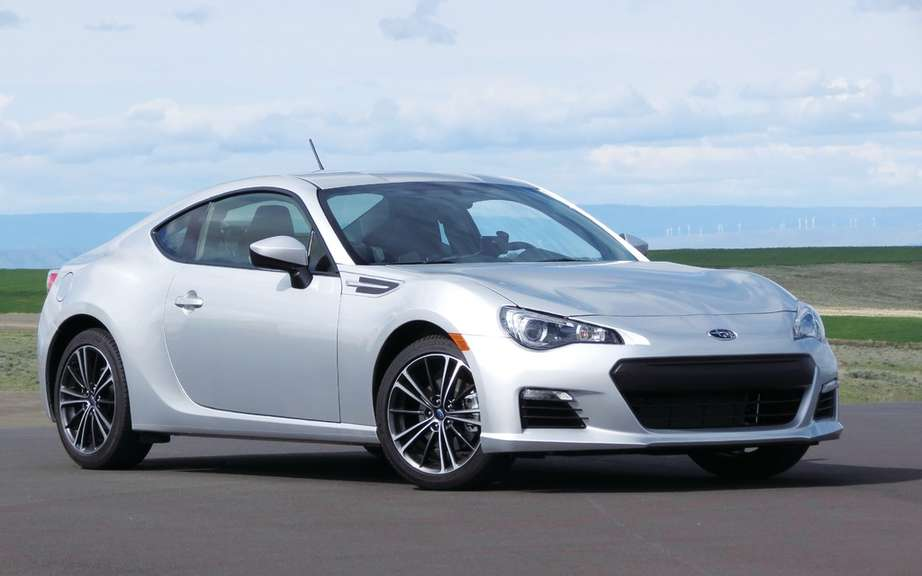 Subaru BRZ tS: in series limited and reserved for Japanese