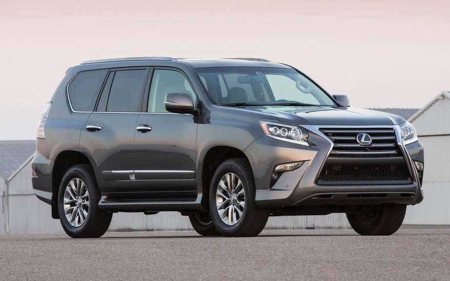 Lexus GX 2014 in turn to receive new grille picture #2