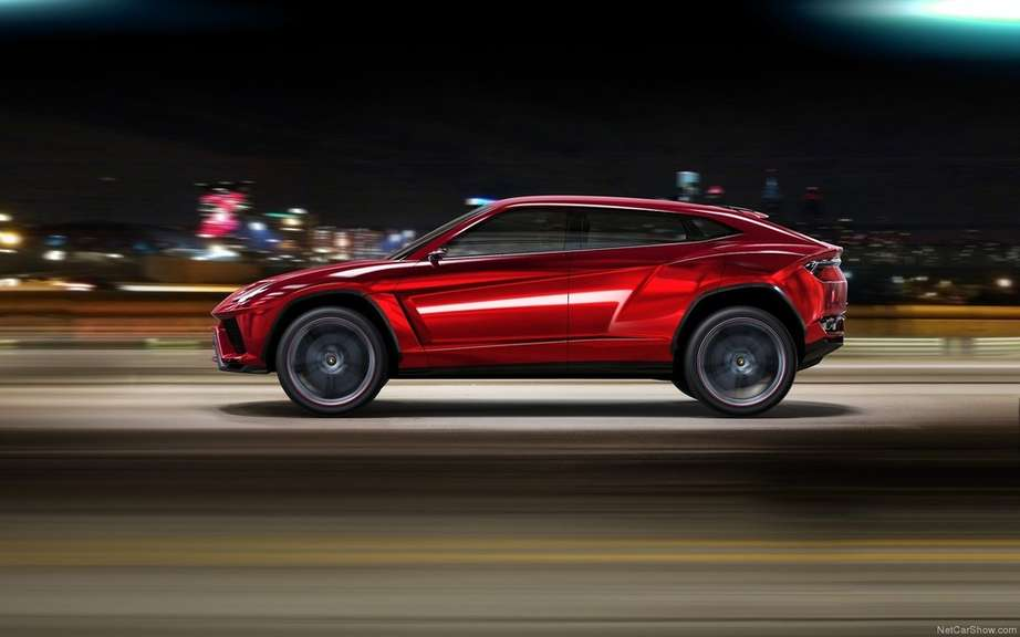 The Lamborghini Urus is built in Slovakia picture #3