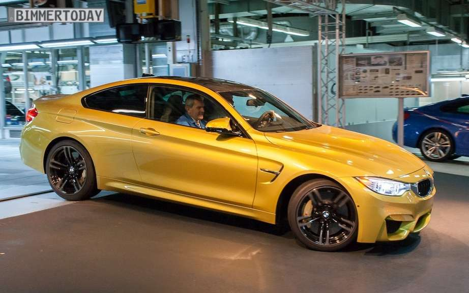 BMW M4 2015 production debute picture #6