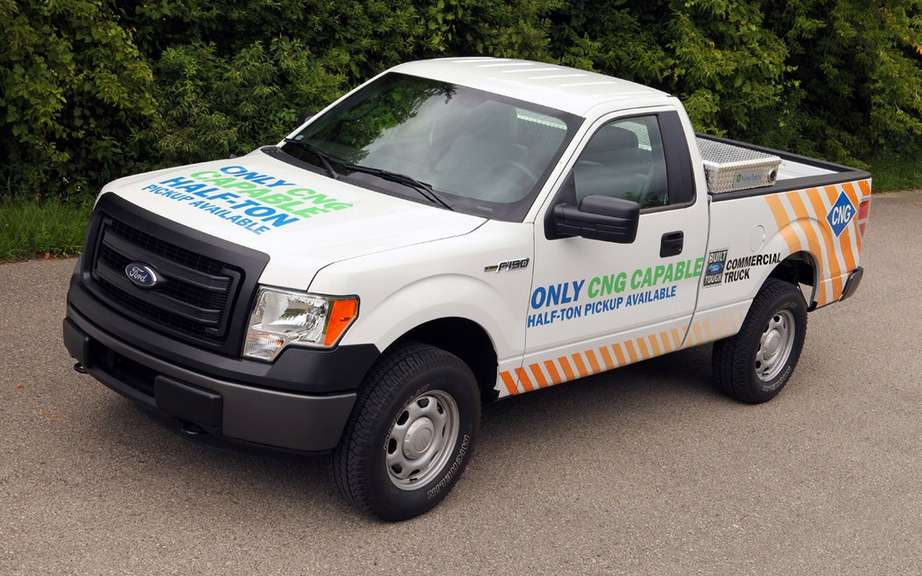 Ford F-150 natural gas for the Canadian market picture #5