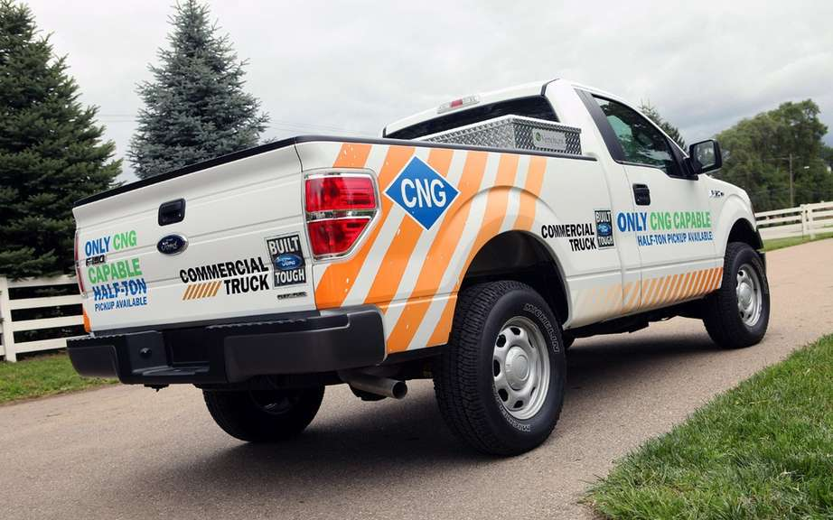 Ford F-150 natural gas for the Canadian market picture #6