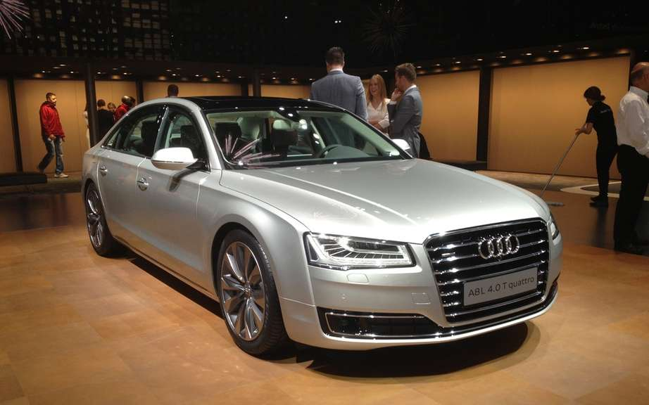 Audi A8 2014 UNVEILED tomorrow on the Web picture #1