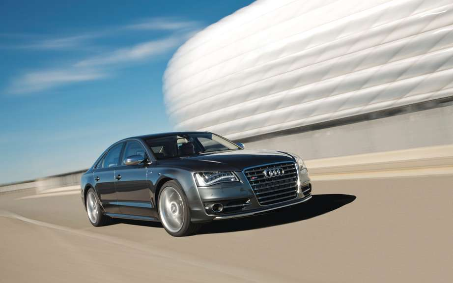 Audi A8 2014 UNVEILED tomorrow on the Web picture #2