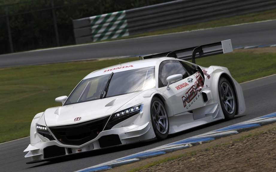 Honda NSX-GT Concept on the Suzuka circuit picture #2