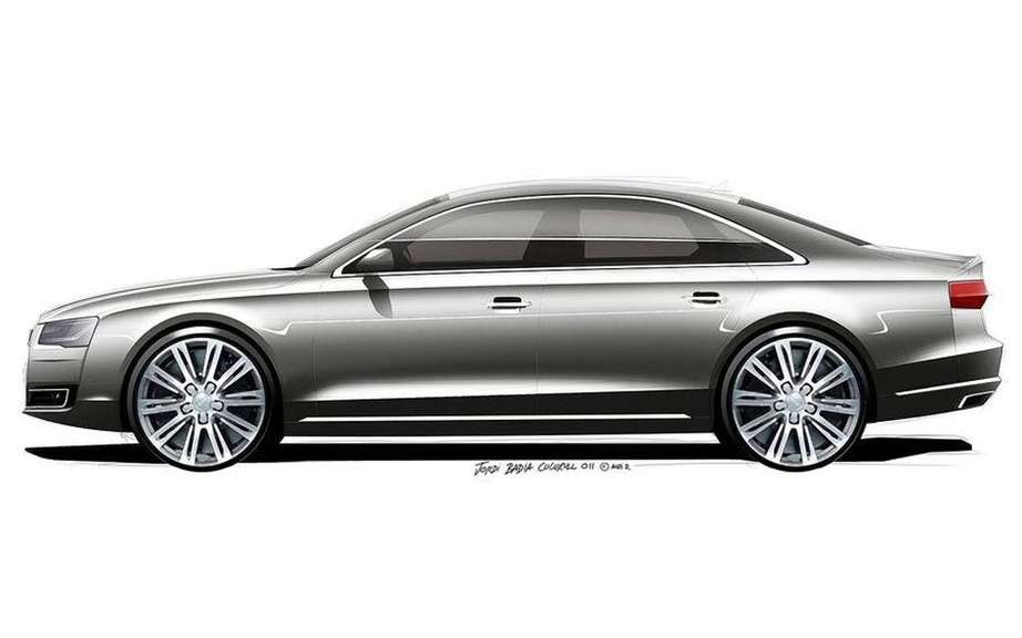 Audi A8 2014 UNVEILED tomorrow on the Web picture #4