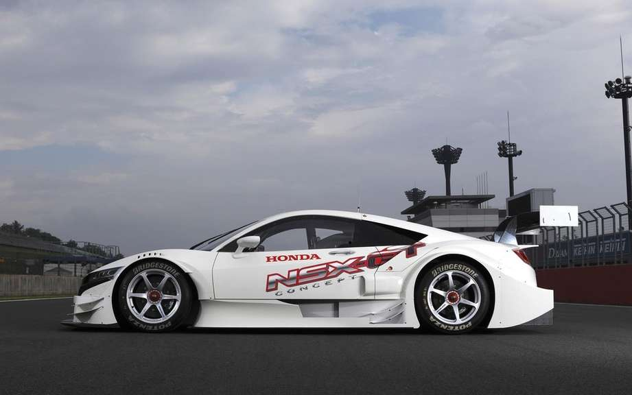 Honda NSX-GT Concept on the Suzuka circuit picture #4