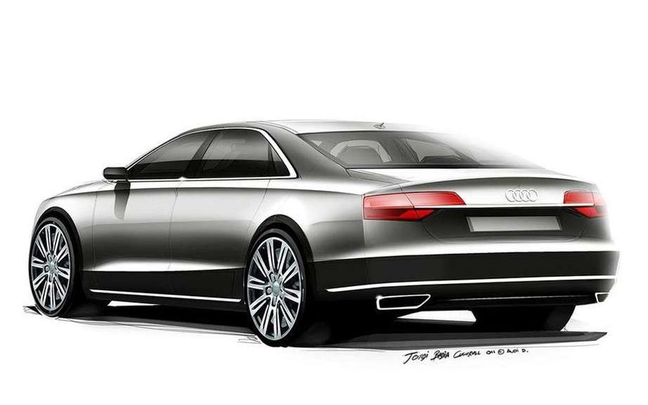 Audi A8 2014 UNVEILED tomorrow on the Web picture #5