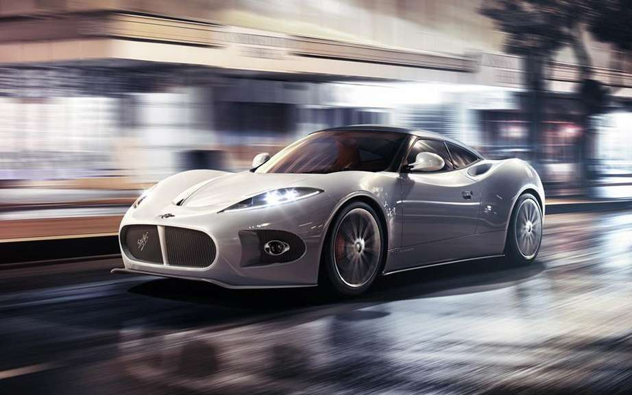 Spyker Spyder Concept B6 Venator discovered at Pebble Beach