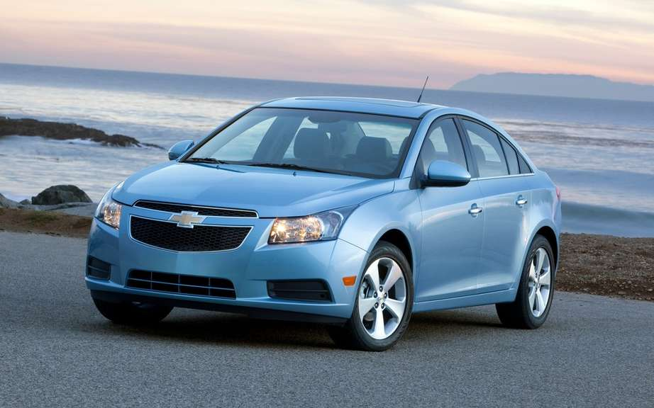 GM makes a recall Chevrolet Cruze for a brake problem picture #4