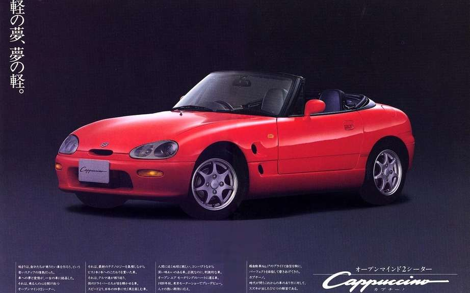 Suzuki Cappuccino: a possible return?