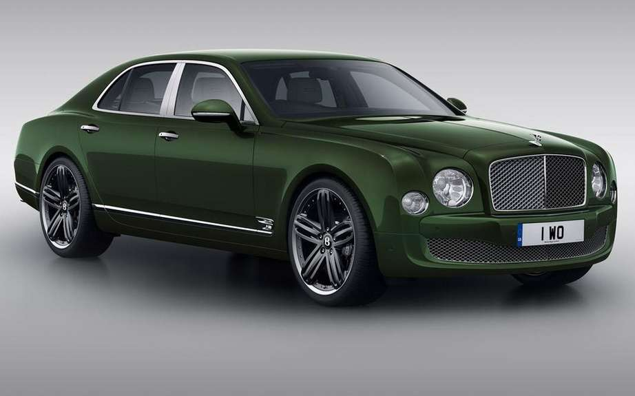 Bentley Mulsanne in Pebble Beach Edition LeMans picture #2