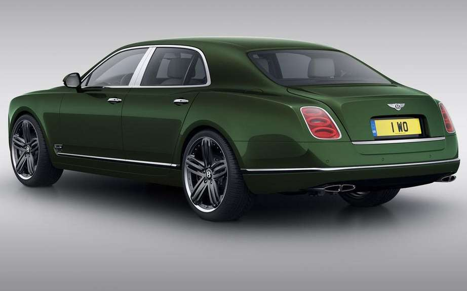 Bentley Mulsanne in Pebble Beach Edition LeMans picture #3