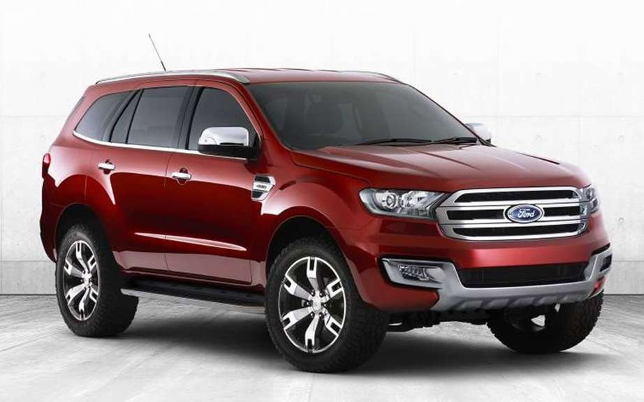 Ford Everest Concept unveiled in Australia picture #1