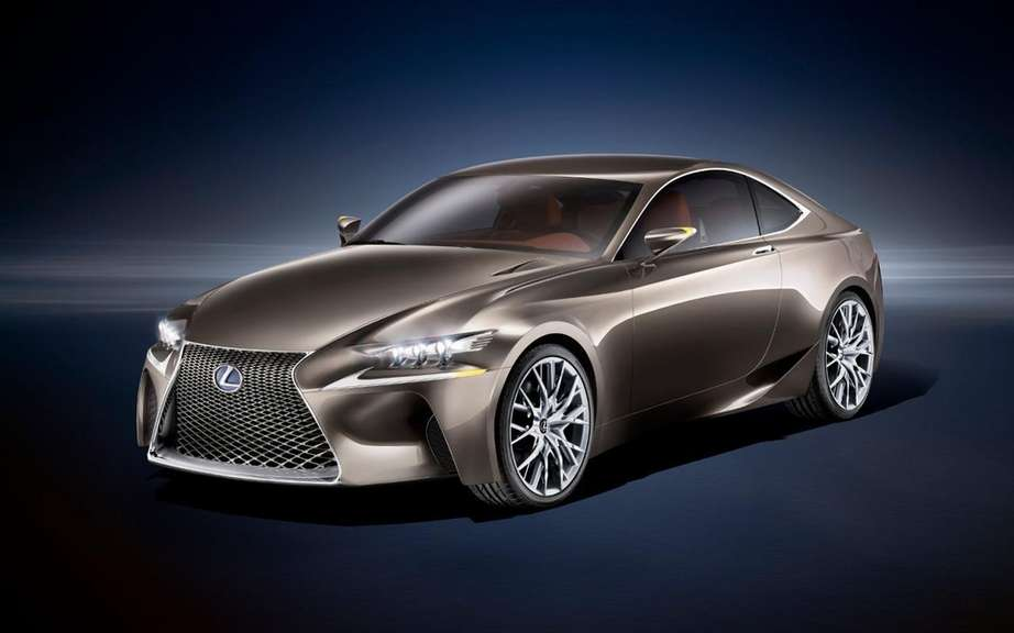 Lexus will enter a new vehicle in Japan Super GT 2014