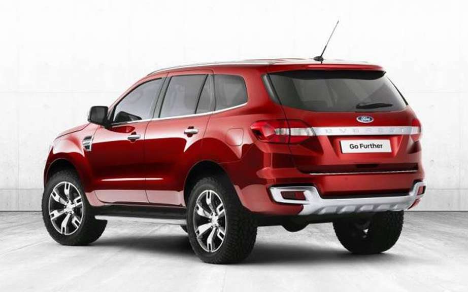 Ford Everest Concept unveiled in Australia picture #2