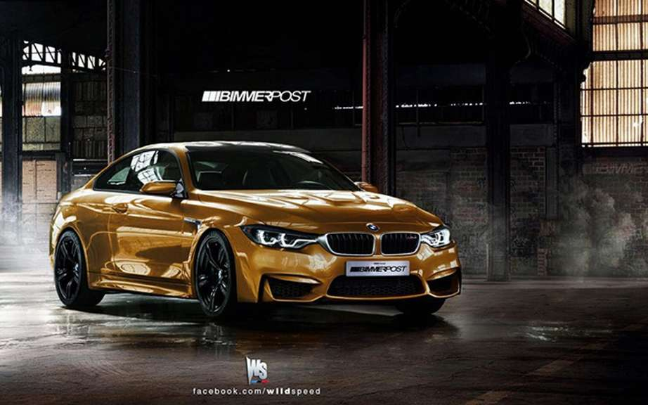 BMW M4 Coupe Concept featuring a Pebble Beach picture #2