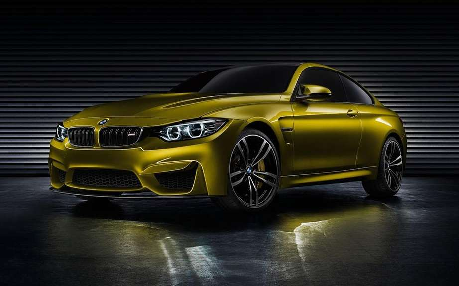 BMW M4 Coupe Concept featuring a Pebble Beach picture #4