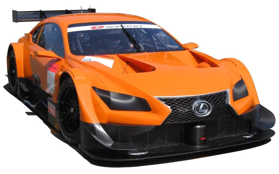 Lexus will enter a new vehicle in Japan Super GT 2014 picture #2