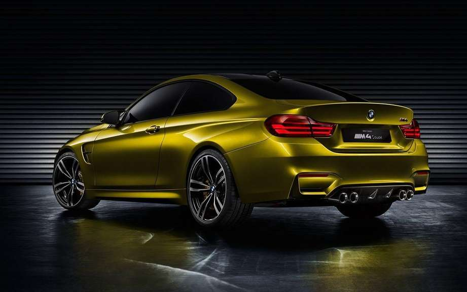 BMW M4 Coupe Concept featuring a Pebble Beach picture #5