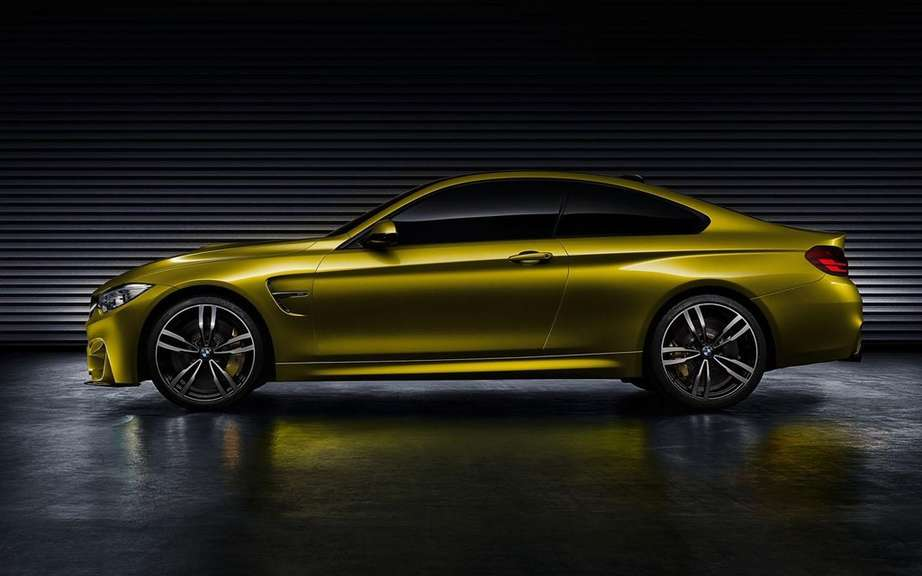 BMW M4 Coupe Concept featuring a Pebble Beach picture #6