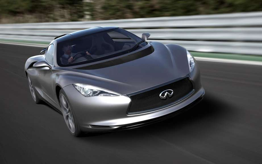 Infiniti will market a high-performance sport coupe picture #2