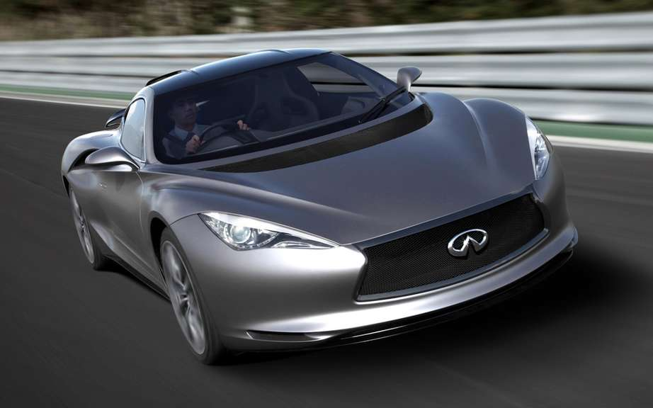 Infiniti will market a high-performance sport coupe picture #3