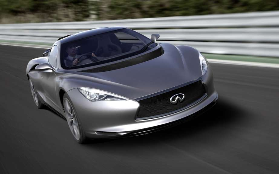 Infiniti will market a high-performance sport coupe picture #4