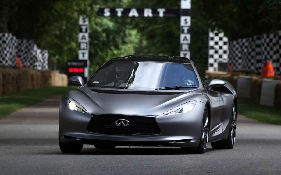 Infiniti will market a high-performance sport coupe picture #6