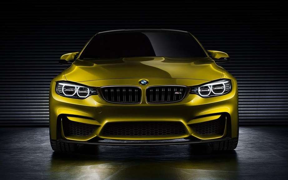 BMW M4 Coupe Concept featuring a Pebble Beach picture #7