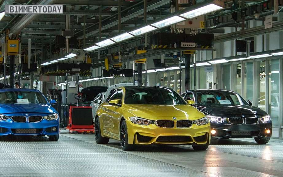 BMW M4 2015 production debute picture #7