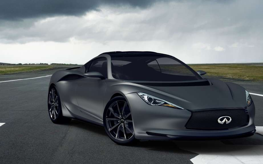 Infiniti will market a high-performance sport coupe picture #7
