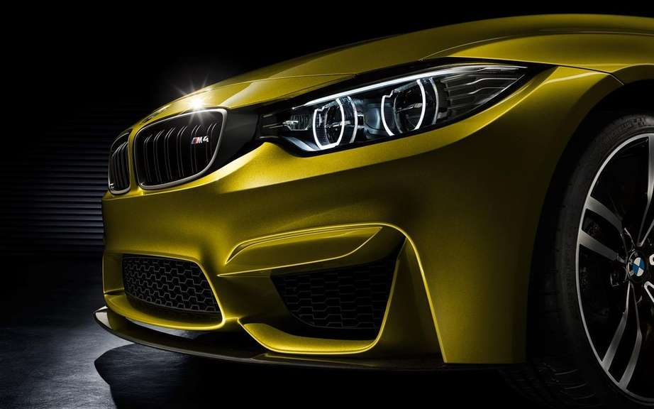 BMW M4 Coupe Concept featuring a Pebble Beach picture #8