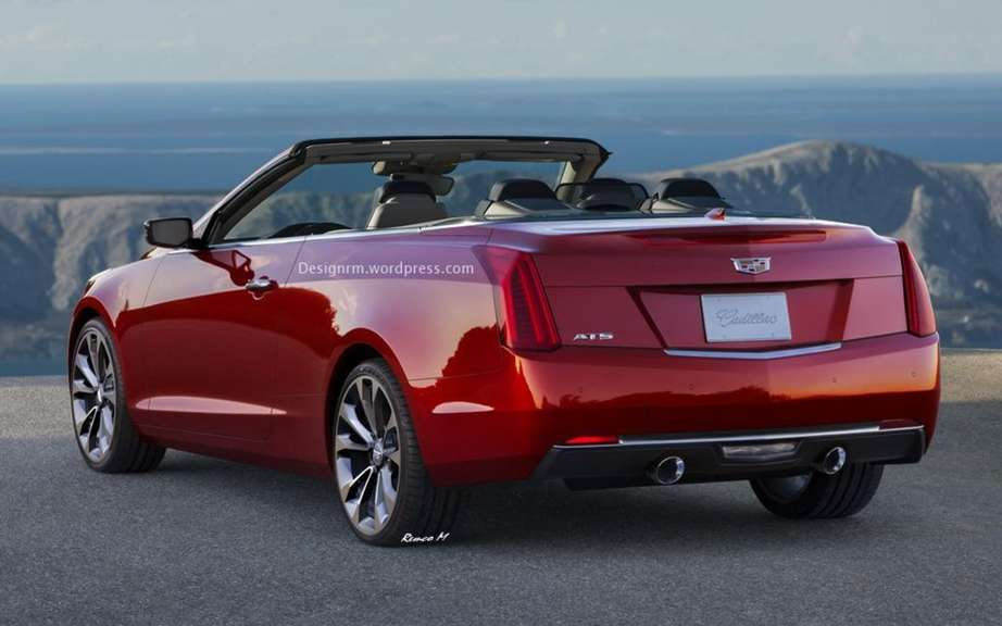 Cadillac ATS Convertible imaginee by Remco Meulendijk picture #4